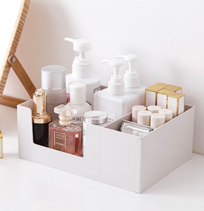 Boîte de rangement cosmétique en plastique avec petit tiroir bijoux Nail Art articles divers conteneur de bureau rouge à lèvres maquillage rack - 6