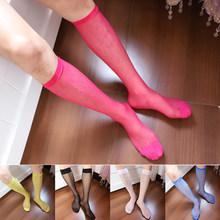 ff42589a736 Women Plus Size Thigh High Stocking Summer Over knee Socks Sexy girl Female  Hosiery Nylon Lace