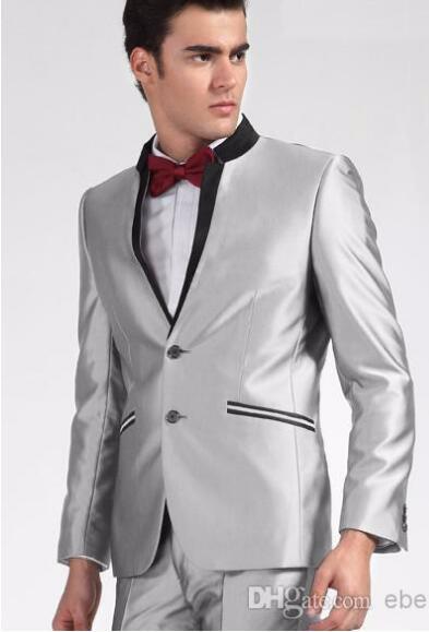 WohltäTig Mode Marke Bussiness Anzüge Slim Fit Männer Anzug Casual Gentleman Hochzeit Bräutigam Kleid Für Formale Partei Plus Größe 5xl Reinigen Der MundhöHle. Anzüge
