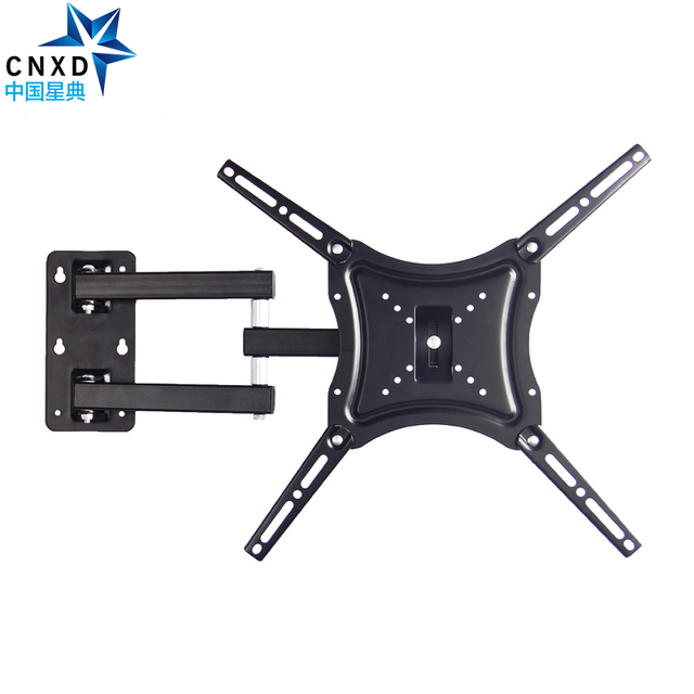 """Retractable TV Wall Mount Full Motion Bracket Wall Stand Adjustable Mount Arm Fit for Plasma Flat LED TV 14"""" 46"""" Support 25KG"""