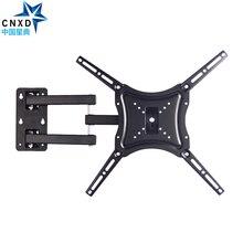 "Soporte de pared de TV retráctil soporte de movimiento completo Pared de soporte brazo ajustable apto para TV LED plana de Plasma 14 "" 46"" soporte 25KG"