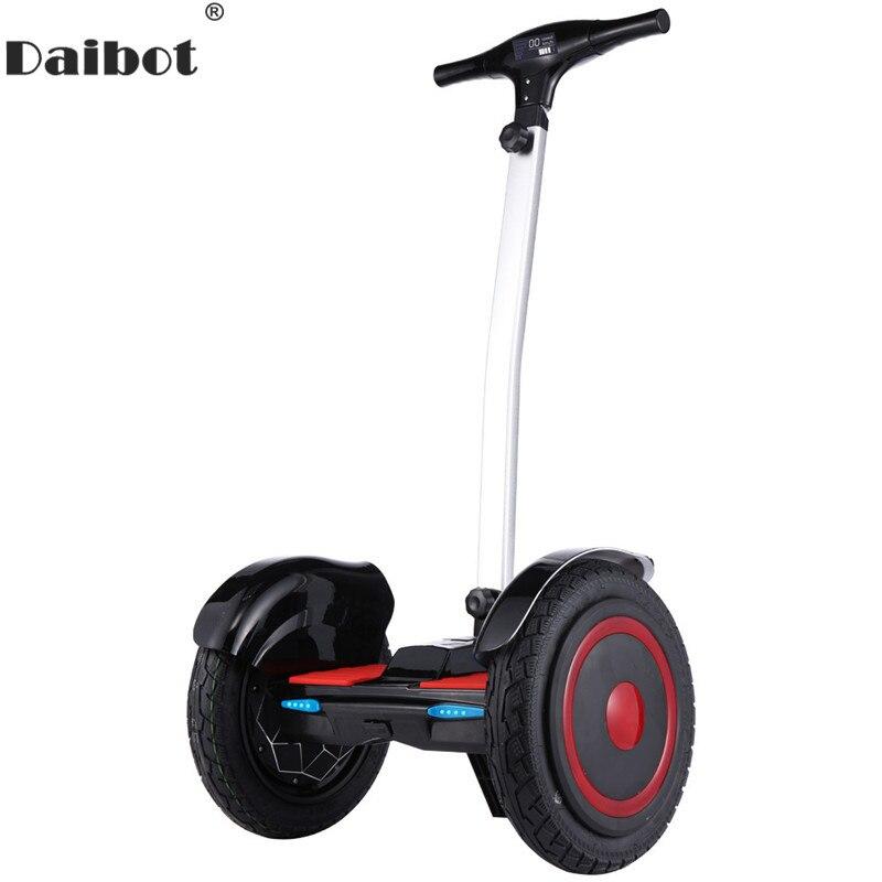 Daibot Hors Route trottinette électrique Auto Équilibrage Scooters 15 Pouces 36 V 700 W hoverboard électrique Scooters Pour Adulte avec bluetooth
