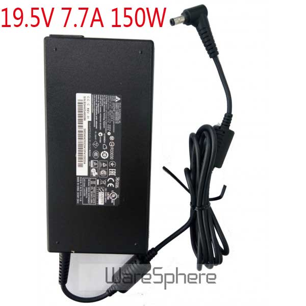 Brand new original 19.5V 7.7A 150W AC/DC Adapter For MSI Apache GS60 GE62 ADP-150VB B