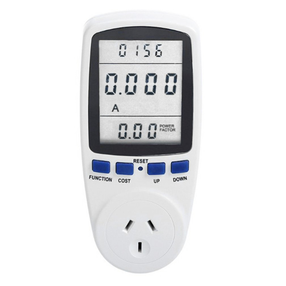 AU Plug 230V 50HZ LCD Energy Meter Voltage Wattage Current Monitor Watt Volt Amp Checker Analyzer Socket Electronic Switch цена
