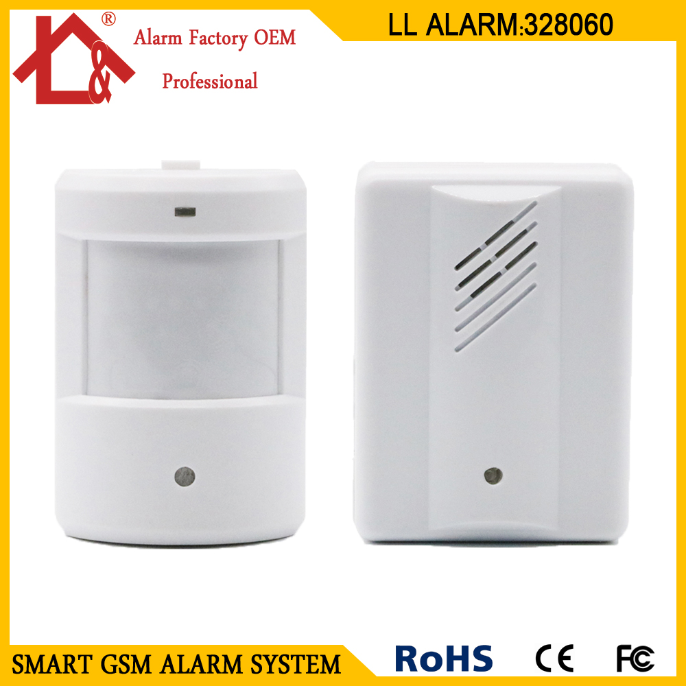 Back To Search Resultshome Pir Motion Detector Sensor Wireless Alert Secure System Welcome Doorbell Alarm For Home 2 Receiver And 1 Transmitter New Varieties Are Introduced One After Another
