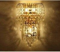 Wall Light Lamp Classic Crystal Sconces Light Sconce Lamps Living Room Glasses Lights Decorative Vintage