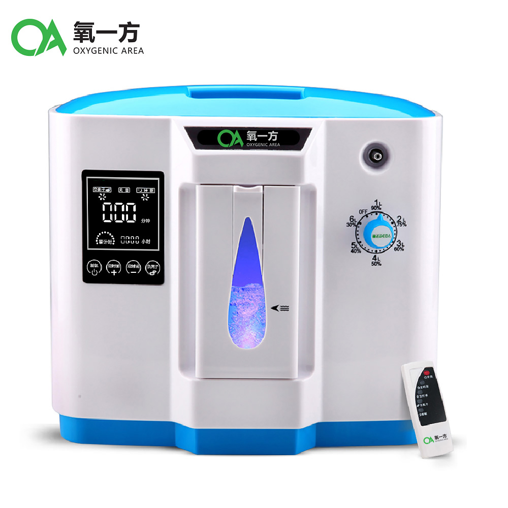 new type 6L home use medical portable oxygen concentrator generator DDT-1B medical oxygen concentrator for respiratory diseases 110v 220v oxygen generator copd oxygen supplying machine