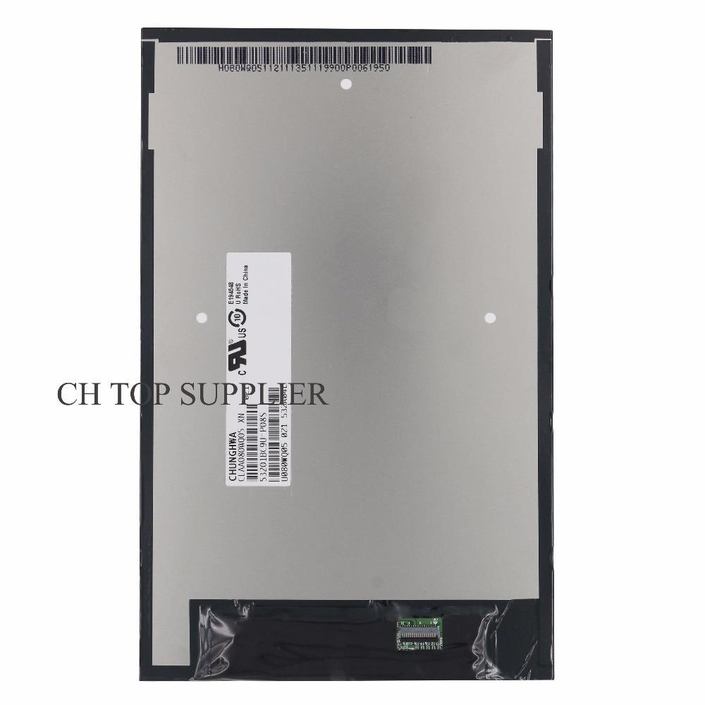 все цены на 8inch For Lenovo A8-50 A5500 CLAA080WQ05 XN V LCD Screen Display Tablet PC онлайн