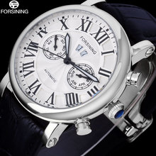 FORSINING Luxury Brand Men Vintage Automatic Watches Male Fa