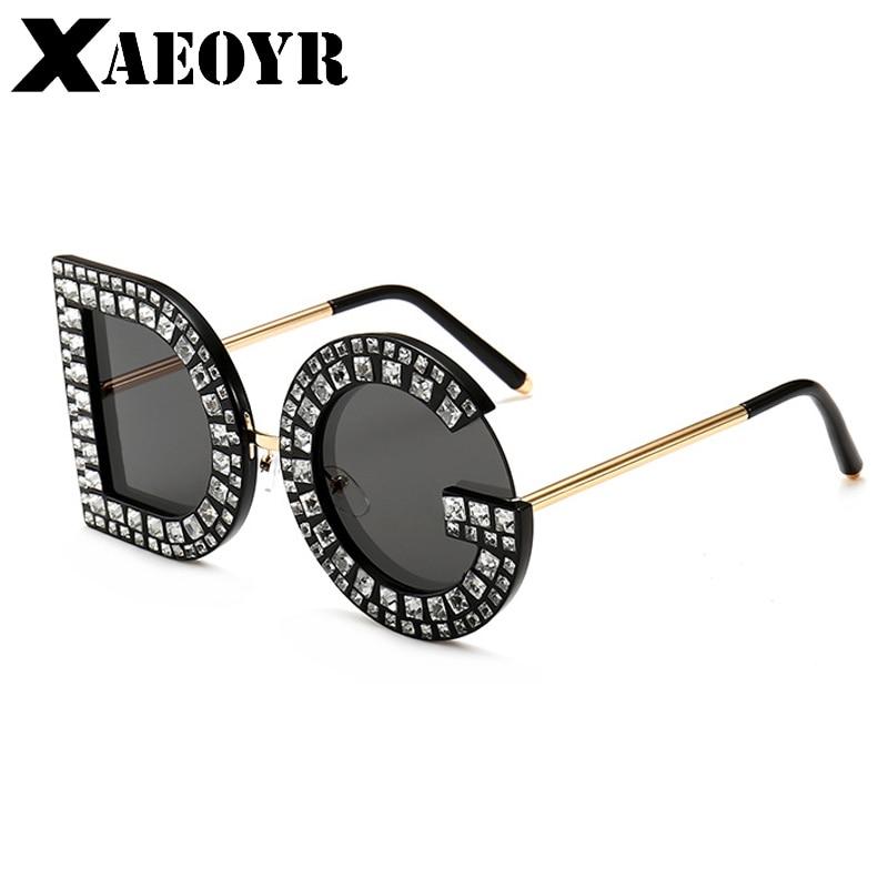 11880b0c758 2018 New Diamond Oversized DG Square Sunglasses Women Men High quality  Sunglasses Luxury Eyeglasses Lentes de sol-in Sunglasses from Women s  Clothing .