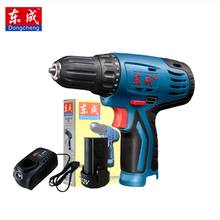 Dongcheng Power Drill 12-Volt Max DC Lithium-Ion Battery 20mm 2-Speed Electric Cordless Drill Mini Screwdriver Impact Driver 28v max electric screwdriver cordless drill mini wireless power driver dc lithium ion battery with 2 lithium battery