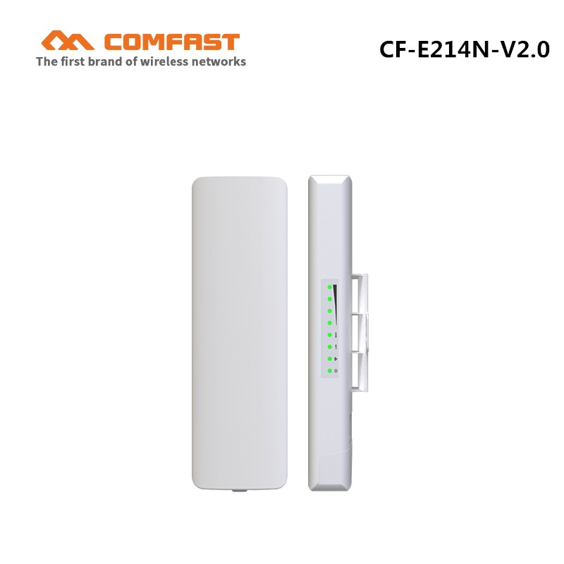 WIFI repeater Outdoor long Range WI-FI antenna CPE COMFAST CF-E214N 150Mbps wireless bridge poe cpe access point AP routers wifi 2 4g 3dbi wi fi antenna black