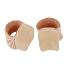 1 Pair Silicone Gel Toe Separator Straightener Bunion Spacers Support F