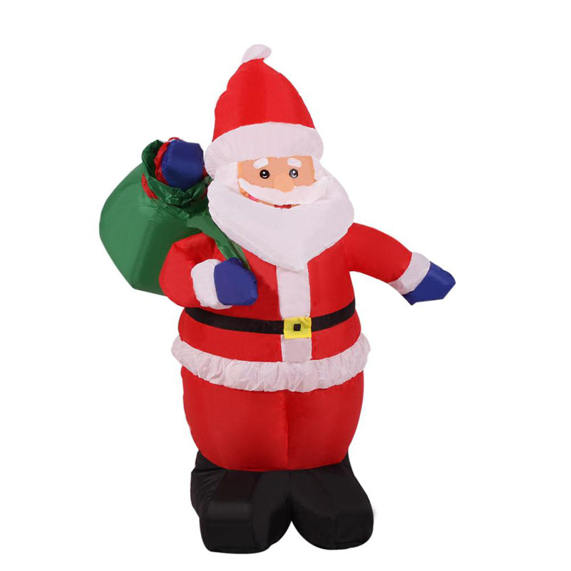 M inflatable chirstmas santa claus decoration supplies