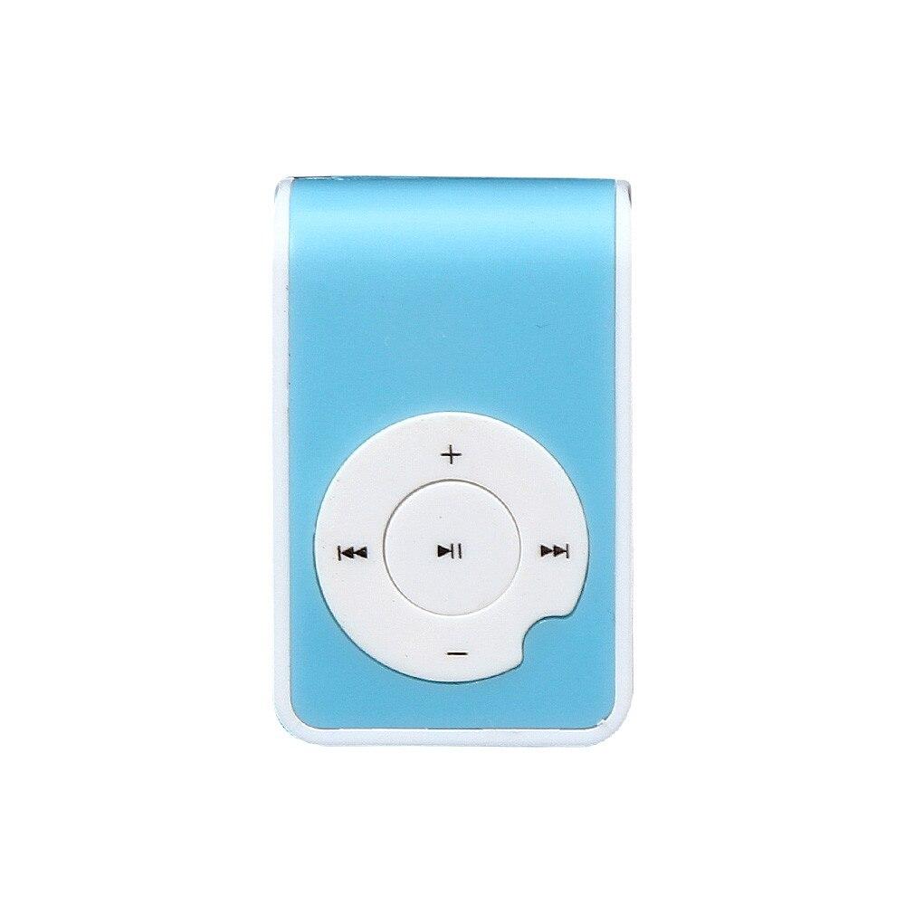WohltäTig Neue Tragbare Lcd-bildschirm Mini Clip Metall Usb Multicolor Mp3 Spieler Unterstützung Micro Sd Tf-einbauschlitz Musik Media Elektronische Produkte Gute QualitäT Tragbares Audio & Video