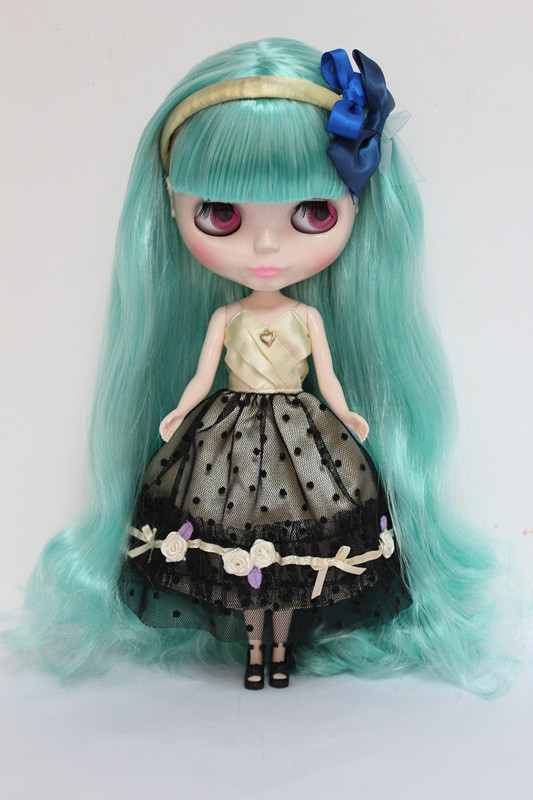 Free Shipping big discount RBL-11DIY Nude Blyth doll birthday gift for girl 4 colour big eyes dolls with beautiful Hair cute toy free shipping big discount rbl 11 15 diy nude blyth doll birthday gift for girl 4 colour big eyes with beautiful hair cute toy
