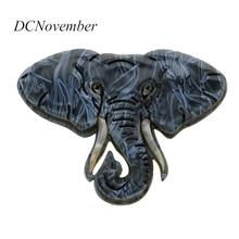 New Arrival Elephant Brooches Pins Women Men Resin Acrylic Brooch Dcnovember Boutique Jewelry