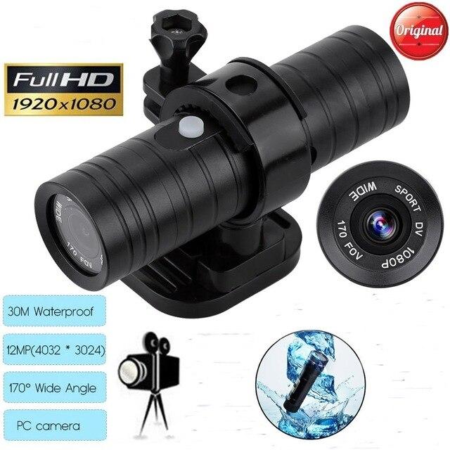 Hot Full HD Mini chasse vidéo caméra HD casque sport Action caméra vidéo DV caméscope voiture enregistreur vidéo pour la chasse