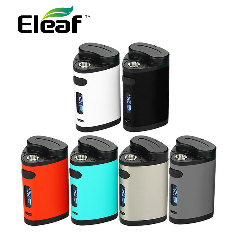 Original 200W Eleaf Pico Dual TC Mod VW/TC Box Mod electronic cigarette Pico dual 200W Temperature Control MOD vs istick 200w стоимость