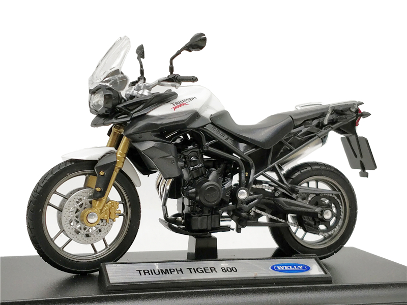 Welly 1:18 Triumph Tiger 800 Diecast Motorcycle