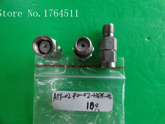 [BELLA] MIDWEST ATT-0290-02-HEX-02 DC-18GHz 2dB 2W Coaxial Fixed Attenuator  --2PCS/LOT