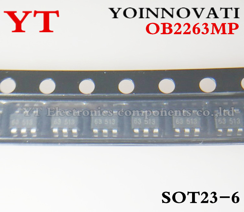 Free Shipping 100pcs/lot <font><b>OB2263MP</b></font> OB2263 2263 SOT23-6 IC Best quality. image