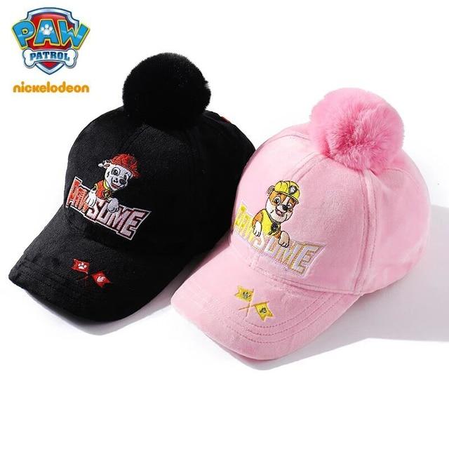 962d13378cd New Genuine paw patrol Baby Cap For Children winter hat for Girls boys Kids  Hat Baby
