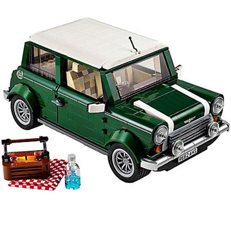 LEGOS Créateur expert MINI Cooper modèle Briques de construction Jouet ensemble Compatible Legos 10242 ville livraison gratuite cadeaux pour les enfants enfants