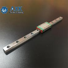 cnc parts MGN7 MGN12 MGN15 MGN9 300 350 400 450 500 600 800mm miniature linear rail slide 1pcMGN9 guide+1pcMGN9H carriage