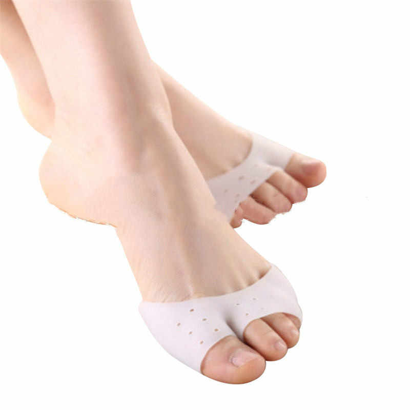 1 Pair Girls Women Belly Ballet Half Shoes Split Soft Sole Paw Dance Feet Protection Toe Pad Pain Relief