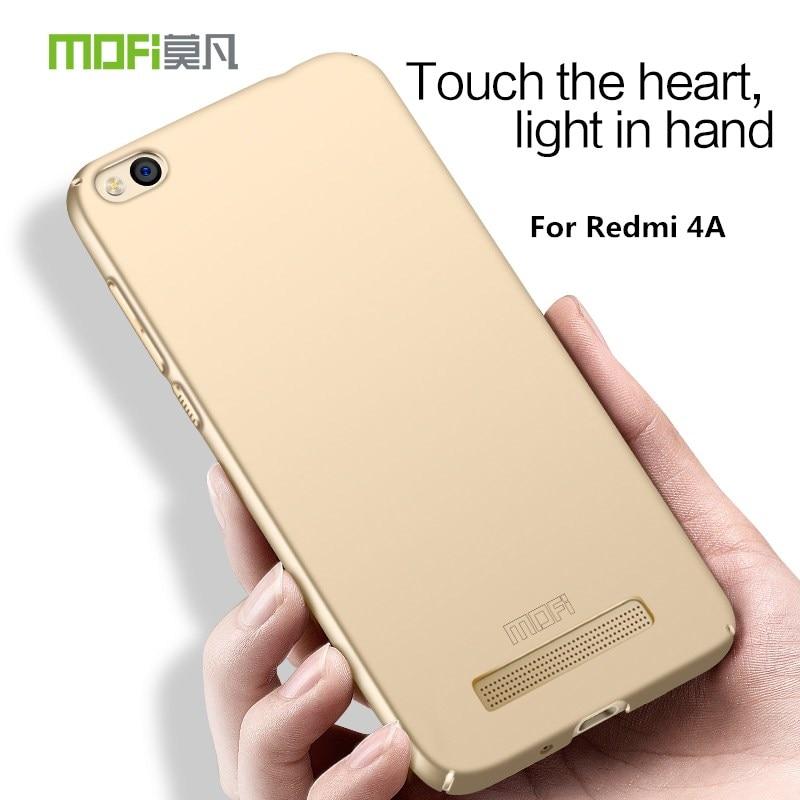 Xiaomi redmi 4A case Original Mofi ultra thin smooth back cover cases for Xiaomi redmi 4A Full Protection coque funda
