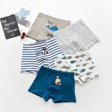5pcs one lot mix models  cotton Boys Boxer Underwear Briefs Panty Kids 1018