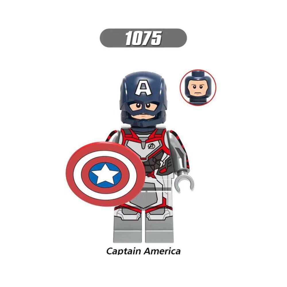 Marvel Мстители 4 Энда игры Legoings фигурки Железный человек танос Тор ракета енот войны машина Черная овда строительные блоки игрушки YF30