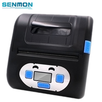 SM 8005LP 80mm Portable Mobile Thermal Label Printer USB Bluetooth Printer for Android and IOS