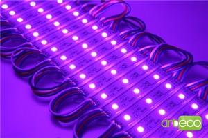 Image 5 - 100 יח\חבילה DC12V 5050 3 נוריות LED מודול 5050 RGB LED מודול אור RGB IP65 עמיד למים