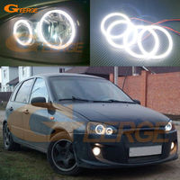 For Lada Kalina 1119 Excellent Led Angel Eyes Ultrabright Illumination Smd Led Angel Eyes Halo Ring