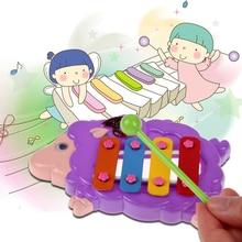 Просто-Бит-Это ноты Резонатор Колокола Животных Дизайн для Детей Развивающие Игрушки, Музыкальные Игрушки Инструмент FCI #