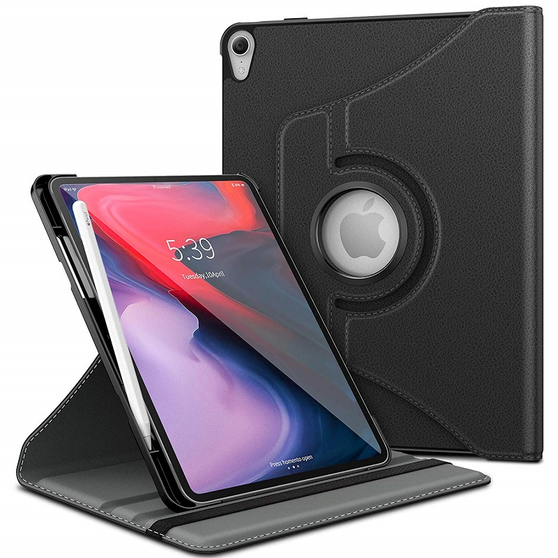 Luxury 360 Rotating Case Cover For Apple Ipad Pro 11 Inch 2018 Release Quality PU Leather Stand Holder Smart Tablet Case CoverLuxury 360 Rotating Case Cover For Apple Ipad Pro 11 Inch 2018 Release Quality PU Leather Stand Holder Smart Tablet Case Cover