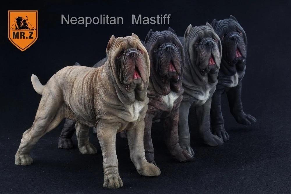 Mr.Z 1:6 Neapolitan Mastiff Dog Figure Toy