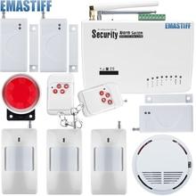 Бесплатная доставка 3 шт. инфракрасный детектор магнитный датчик двери Беспроводной дома охранной сигнализации детектор дыма 433 мГц GSM сигнализация