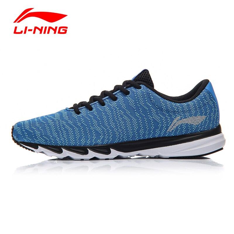 פיצוץ Li-ning הגברים אור לנשימה נעלי ריצה לי נינג אנטי להחליק ספורט ריצה נוחות רירית בטנת טקסטיל נעלי ARBM115