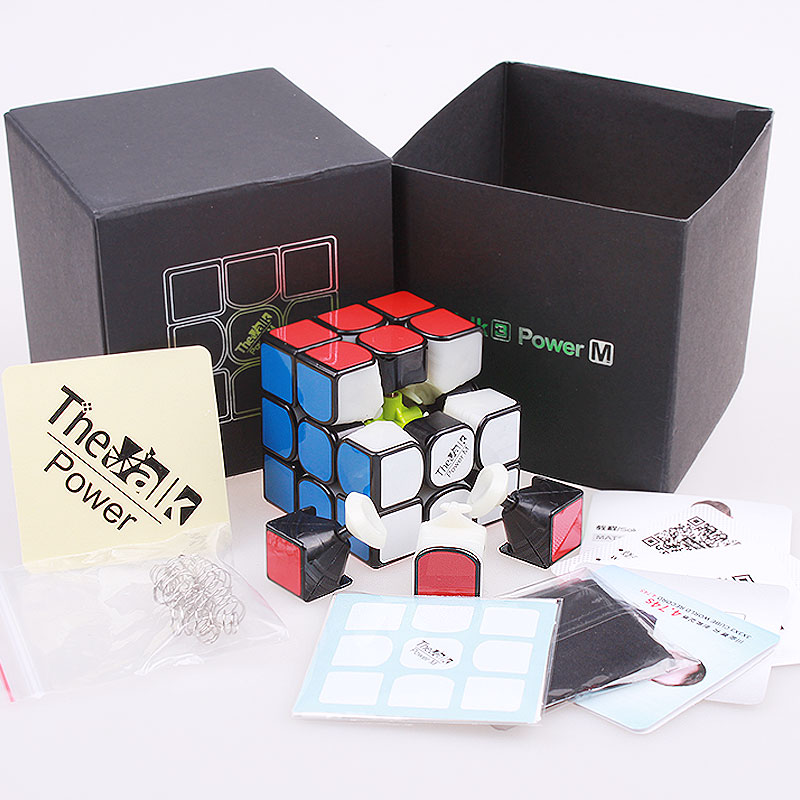 Купить с кэшбэком The Valk3 Power M Magnetic Magic Cube Professional 3x3x3 Speed Cube Puzzle  The valk3 Magnets Cubes Toys For Children