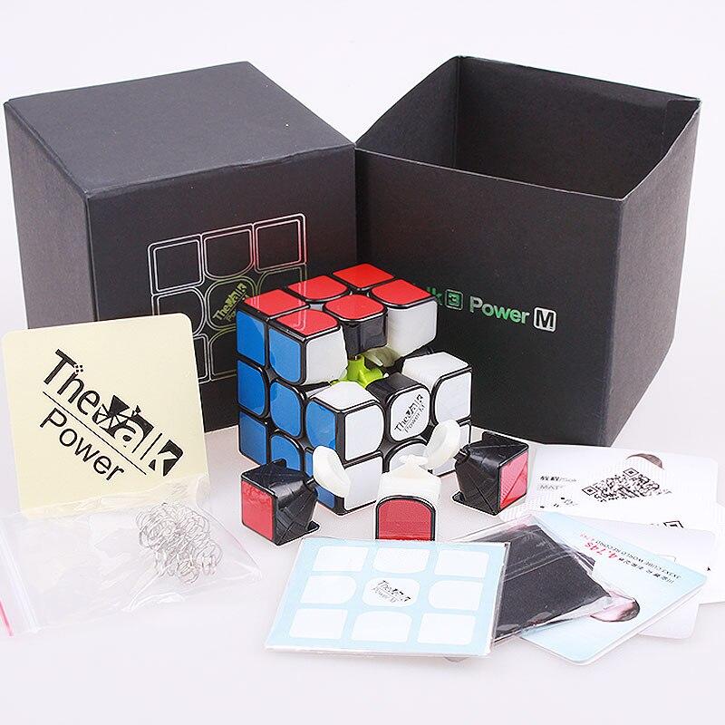 Qiyi The Valk3 Power M Magnetic Speed Magic Cube 3x3x3 Puzzle - Juegos y rompecabezas - foto 6