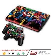 Супер герой Виниловая наклейка для кожи для PS3 Slim 4000 для Play Station 3 Super Slim Decal Sticker