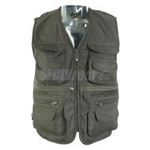 Men Fly Fishing Vest Hunting Vest Outdoor Vest Multi-Pocket Vest Quick-Dry Jacket