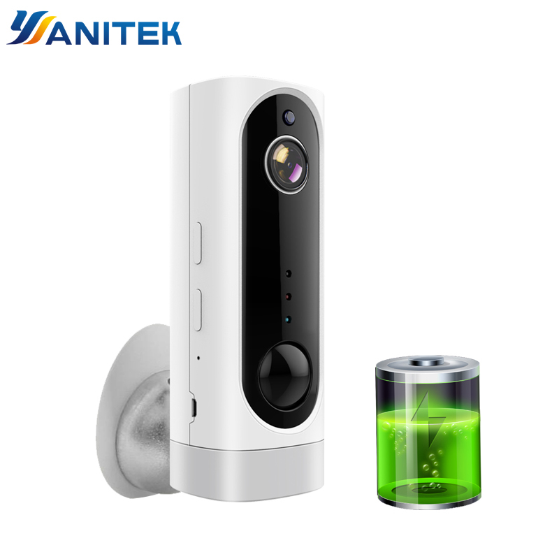 Battery WiFi Camera Rechargeable Battery Powered 720P 1080P Full HD Indoor Wireless Security IP Cam 130 Wide Angle IOS APP ICseeBattery WiFi Camera Rechargeable Battery Powered 720P 1080P Full HD Indoor Wireless Security IP Cam 130 Wide Angle IOS APP ICsee