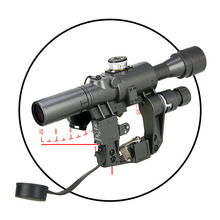 New 4×24-1 Tactical Rifle Scope Magnifying 4X for Outdoor use and Hunting PP1-0330