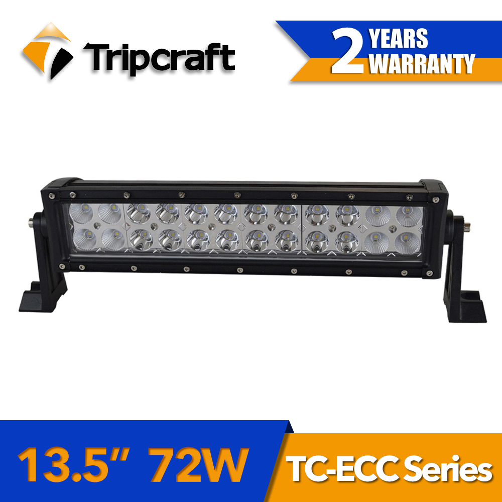 Tripcraft hot sale car accessories 13.5 inch 72W 6120LM led light bar Off Road SUV Driving Light Car Truck LED Light bar tripcraft 40w 4inch led work light flood driving lamp for car truck trailer suv off road boat 12v 24v 4wd car accessories