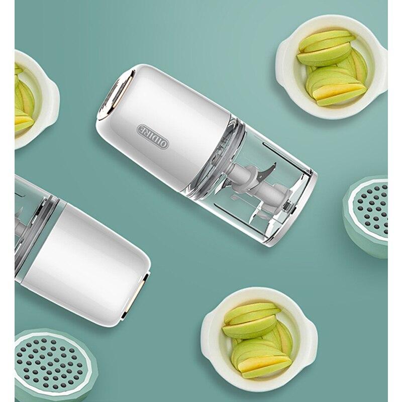 Electric Baby Food Maker Mini Portable Toddler Blenders BPA Free Infant Fruit Vegetable Mixer Multifunctional Juicer Machine