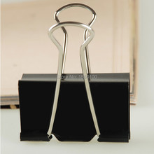Free Shipping (60pcs/set)15mm binder clips ticket clip long tail paper clip office/school supplies metal clamp